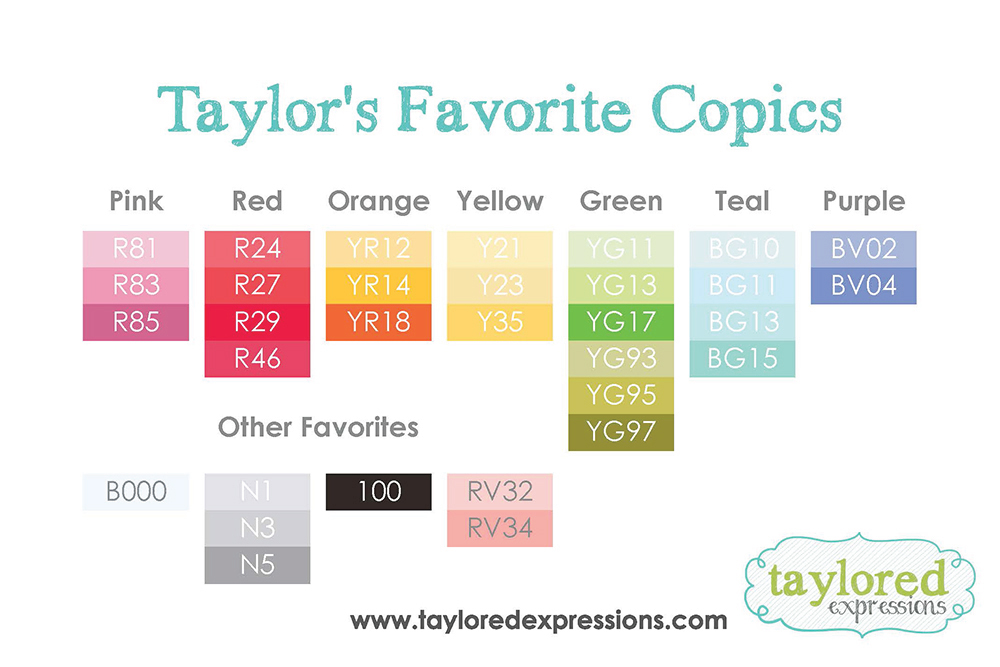 Get Creative With Copics & Stock Up Now! Taylored Expressions Blog
